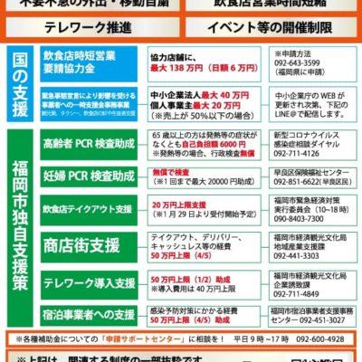福岡市緊急事態宣言